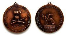 Medaglia XIII Raduno Nazionale Artiglieri D'Italia Verona 1966 Centenario