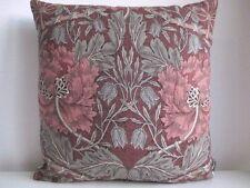 Liberty William Morris Honeysuckle & Designer Velvet Fabric Arts Cushion Cover