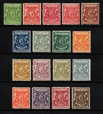 British East Africa 1896-1901 Queen Victoria set to 5r., MH (SG65/79)