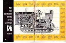 1955 Caterpillar D-6 Sales Catalog