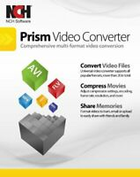 Prism Plus Video Converter French Edition Convert avi, mpg, vob, asf ,wmv, mp4
