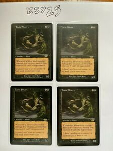 MTG Toxin Sliver x 4 (Legions) NM/M -- Magic the Gathering card - BONUS