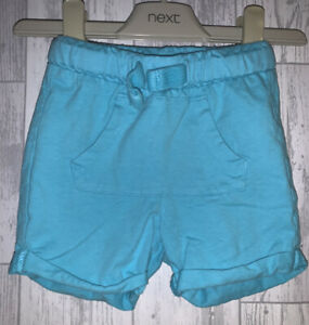 Girls Age 9-12 Months - Blue Shorts