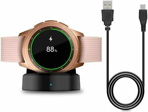 Charger for New Samsung Galaxy Watch 42mm/46mm, Upgraded Charging Cradle...