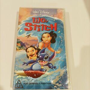Walt Disney Classics Lilo and Stitch VHS vintage Retro 90s