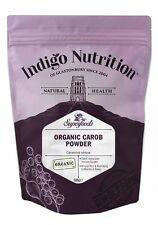 Organic Carob Powder - 500g - Indigo Herbs