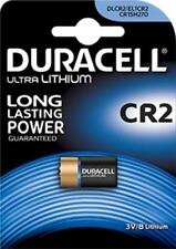 1 BATTERIA PILA AL LITIO DURACELL CR2 ULTRA 3V PHOTO FOTO DLCR2 EL1CR2 CR15H270