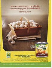 ▬► PUBLICITE ADVERTISING AD Bonduelle légumes conserve 2012