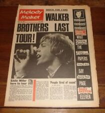 March Melody Maker Music, Dance & Theatre Magazines in English
