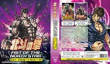 FIST OF THE NORTH STAR TV+6 Movies+MV   Episodes 01-152+   13 DVDs (M1287)