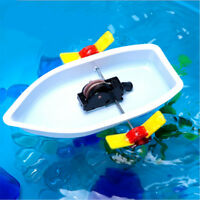 Educational Boat Toys Science Technology Experiment Learning Gift Model Baby Toy