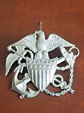 WWII US Navy Nurse Cadet Hat Badge Sterling by Blackington