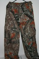Outfitters Ridge Fusion 3-D 100% Cotton Camouflage Hunting Cargo Pants Sz S