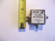 Anzac Tu-50  20-400Mhz C, B ,D. Anzac Used For Controls, Other Applications.