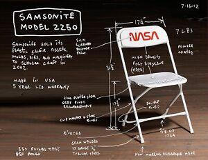 Tom Sachs NASA Chair / Edition 500 Banksy KAWS
