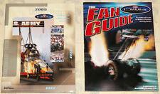"VINTAGE ""2005/2006"" NHRA POWERADE DRAG RACING FAN GUIDE MAGAZINES W/POSTERS!!!"