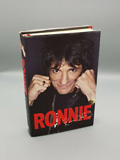 "Rolling Stones ""Ronnie Wood Autobiography"" hand signed by Ronnie !!"