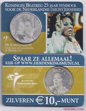 """NEDERLAND 10 EURO  2005: """"JUBILEUMMUNT"""" IN COINCARD"""