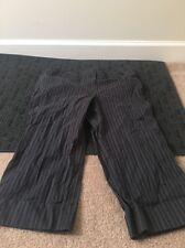 Ann Taylor Loft Petites Casual Capri Striped Pants Sz 10P Clothes