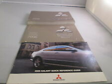 2006 MITSUBISHI GALANT OWNERS WARRANTY QUICK REFERENCE GUIDE NO CASE FREE SHIP