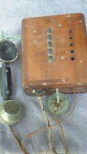 ANCIEN TELEPHONE MURAL eurieult