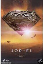 New Hot Toys Movie Masterpiece Superman Man of Steel Jor-El 1/6 Pre-Painted