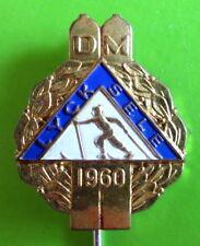 SWEDEN - SKI CROSS COUNTRY CHAMPIONSHIP LYCKSELE 1960 VINTAGE PIN
