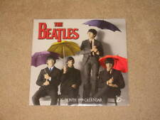 """The Beatles 1998 12 Month Calendar w/ Early Pictures Unused Near Mint 12 x12"""" Ss"""