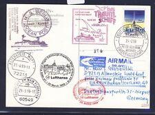 52371) LH FF Edinburgh GB/UK - Frankfurt 28.3.99, Karte SP BP Kuwait 25.2.99