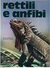 BURTON MAURICE RETTILI E ANFIBI DE AGOSTINI 1973 ANIMALI ZOOLOGIA