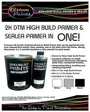 2K DTM HIGH BUILD PRIMER BLACK Gallon Inc ACTIVATOR, Auto Paint, PPG, HOK