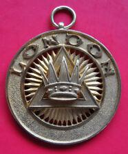 Past London Grand Chapter Rank collar jewel masonic Royal Arch RA 1959 hallmark