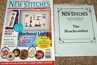 Mary Hickmott's New Stitches Magazine #75 & X-Stitch Beach Combers Materials Kit
