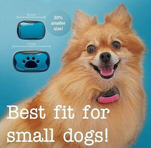 Woof Whisperer SMALL Dog Bark Collar - No Shock Humane Anti Barking Vibrating