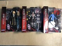 Diamond Select Castlevania Netflix Action Figure Set of 3 Trevor Alucard Sypha