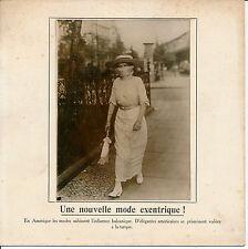 Nouvelle Mode c. 1910 - Américaines Elégantes Voilées à la Turque - 62