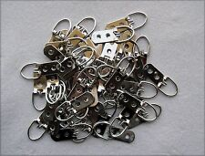 Lot of 50, Super Heavy Duty Two-Hole D-Ring Frame Picture Mirror Strap Hangers