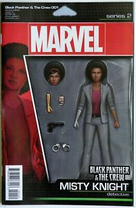 Black Panther and the Crew #1 Action Figure Variant - Marvel Comics - TN Coates