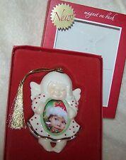 Lenox Ornament Angel Frame Baby Little Girl Magnet on the Back NIB