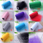 "6"" x 25 Yards Soft Tulle Roll Wedding Party Bridal Tutu Spool Gift Wrap Craft"