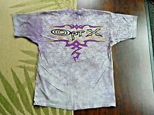 1996 Liquid Blue T- Shirt / Opt-X Purple Tie Dye / Xl / Deadstock / Made in Usa