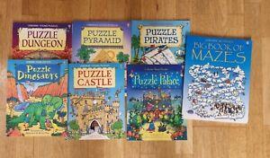 Usborne Books Young Puzzles Bundle
