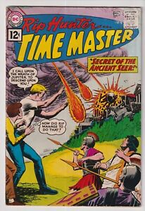 1962 DC COMICS RIP HUNTER TIME MASTER #6 IN VG CONDITION