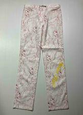 JC DE CASTELBAJAC PARIS vintage '80 Pantalons Femme Coton Fate SZ.L - 46