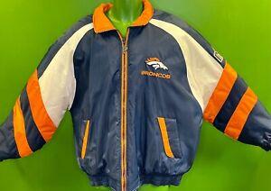 C9/1660 NFL Denver Broncos Vintage Pro Player Coat / Jacket Size X-Large