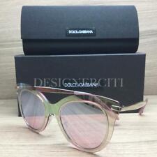 ad02c1d7c4ac Dolce   Gabbana DG 2172 Sunglasses Pink Mirrored 05 7V Authentic 51mm