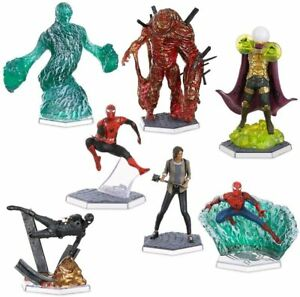 Marvel Spider-Man Far from Home Figure 7 Piece Play Set