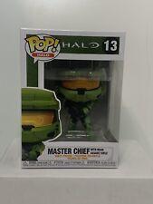 Funko Pop! Halo: Master Chief w/ MA40 Assault Rifle w/ Protector MINT