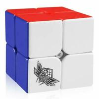 Cyclone Boys 2x2 Speed Cube Stickerless 2 by 2 Magic Cube Puzzles Toys 50mm Game