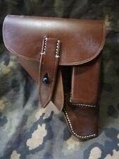 Holster cuir marron WALTHER PPK 7,65mn LUFTWAFFE ( WW2 tar tir pistolet